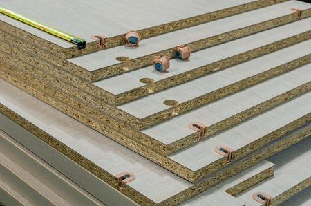 board chipboard cut parts Stock fotó