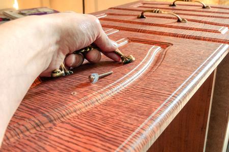 furniture sundries close-up