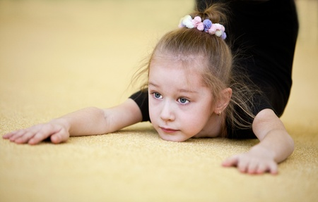 The young gymnast Stock Photo - 9387566