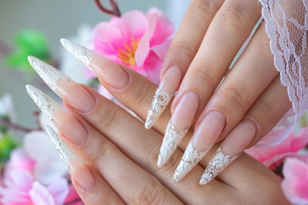 nails: female hands - nails