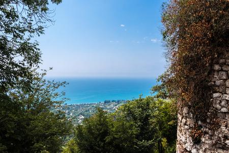 Anakopijsky stability in the Iversky mountain, New Athos, Abkhazia