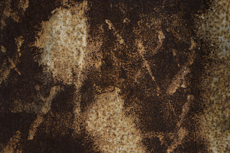 Piece of rusty iron sheet for background
