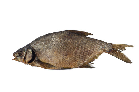 Dried fish bream intended for use with beer