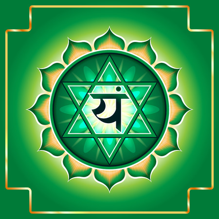 the energy center: Chakra Anahata