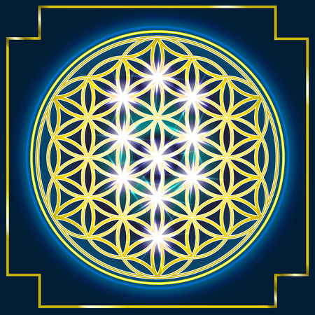 esoterics: The flower Of Life Illustration