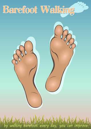 and barefoot: The symbolic of  human foot for walking barefoot with a view to healing the body
