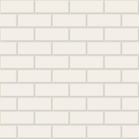 Vector illustration the seamless brick background. Vector