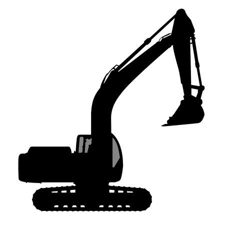 excavate: Silhouette the excavate