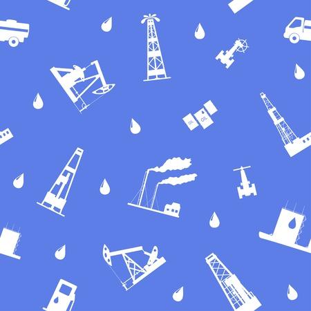 petroleum: Oil and petroleum icon. Seamless.