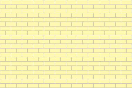 The vector illustration of seamless brick background. Vettoriali