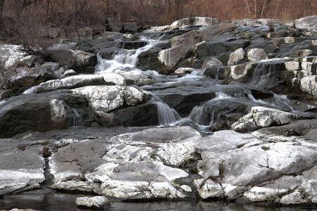 falling tide: Karachunovsky falls (small)
