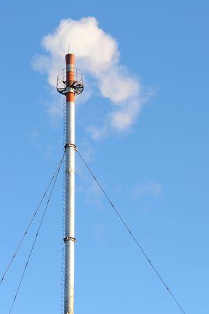 alternative energy sources: Heat power Stock Photo