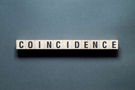 Coincidence word concept on cubes.