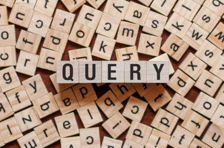 Query word concept on cubes.