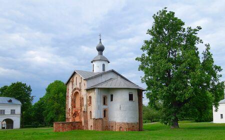 veliky: Church of St. Paraskevi  in  Velikiy Novgorod