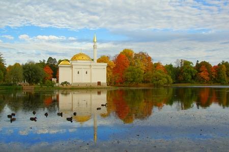by catherine: Autumn morning in the Catherine park in Tsarskoye Selo