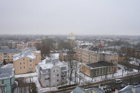 city pushkin: View Catherines Cathedral and Tsarskoye Selo with the Singing Tower