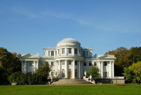 Elagin Palace on the Elagin Island in St. Petersburg