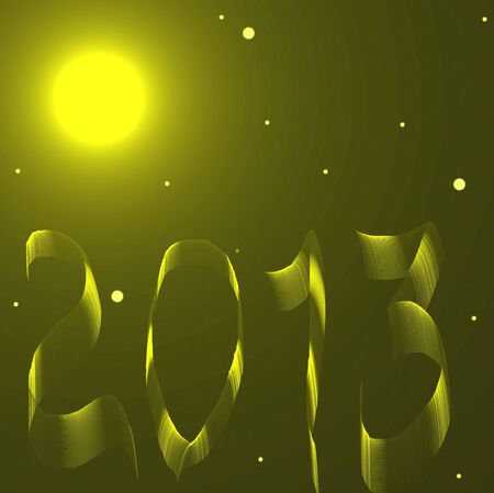 happy new year 2013  holiday background Stock Photo - 16581867