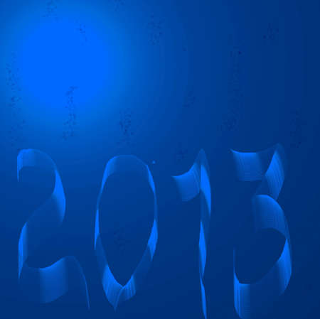 New year 2013 background for new year  calender design