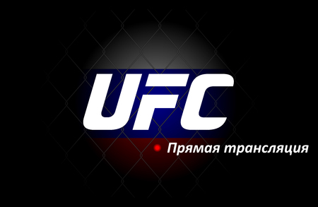 UFC Russia Template, For Advertising Your Event (Layout, Cover, Invitation, Poster, Banner, Flyer, Stream) Fight Night. Will Help To Advertise and Attract Customers. Template UFC Vector Illustration