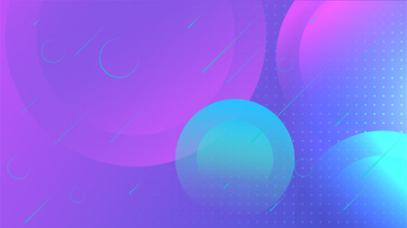 Futuristic gradient geometric background. Poster design template. Illustration for presentation, web page, invitation, card design, abstract landing page, marketing promotion design.