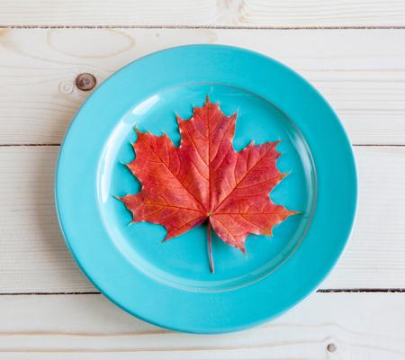 allegoric: Autumn menu. The allegorical image of that autumn