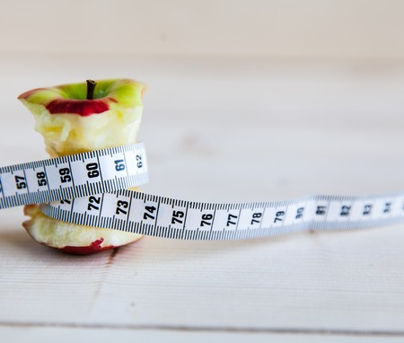 perseverance: apple stump and measuring tape