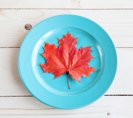 allegorical: Autumn menu. The allegorical image of that autumn