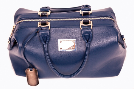 woman handle success: blue travel bag for women