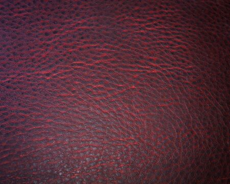 red leather texture: dark red leather texture for background Stock Photo
