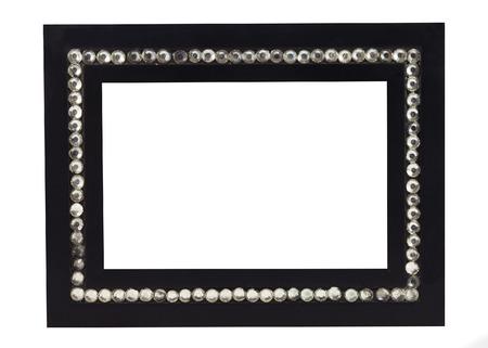 valuables: Square frame made of diamonds.