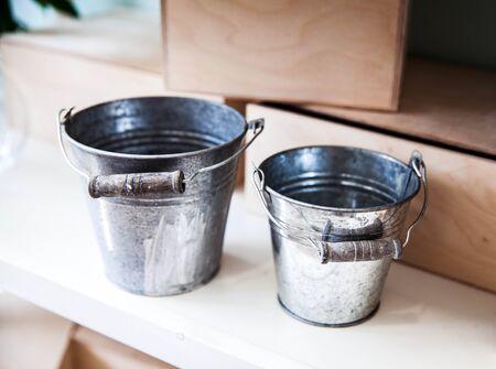 metallic: Metallic bucket