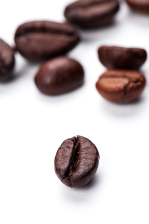cofe: coffee beans isolated on white background