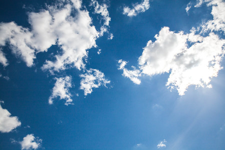 Sky clouds,sky with clouds and sun