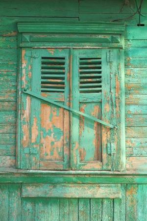 outworn: Old window  Russia  City Orel