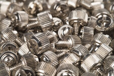 Screws for assembling a computer system Stock Photo - 19088894