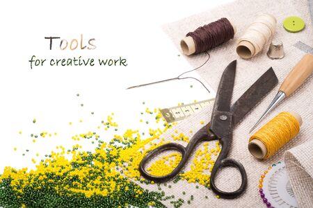 sartorial: Tools for creative work Stock Photo