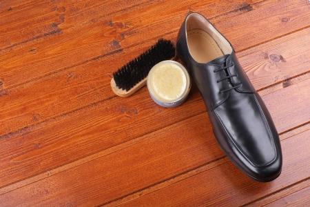 Men's Spring Shoes Stockfoto
