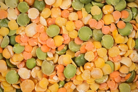 Background of the bean mixture photo