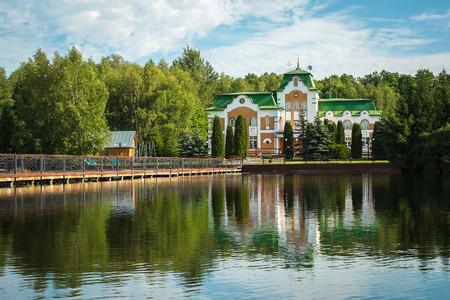 Restaurant and hotel complex Orlovskoe Polesye. Russia, Orel region