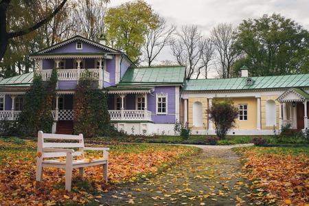 spassky: Memorial House IS Turgenev Spassky Lutovinovo Russia. Orel region, Mtsensk District, the village Spasskoe- Lutovinovo