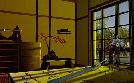 Scene of a Japanese interior