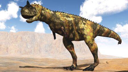 tiranosaurio rex: La imagen de un dinosaurio depredador