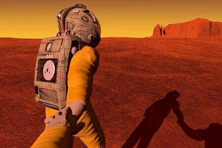 exploration: Follow me to Mars