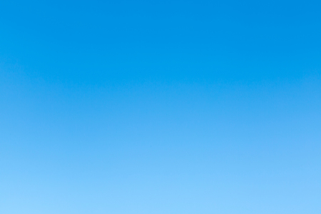Pure blue sky without clouds. Natural background.