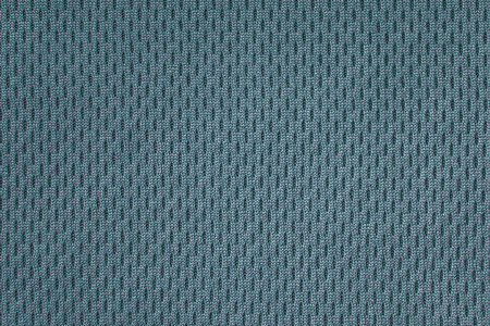 Perforated thermo fabric aquamarine closeup Reklamní fotografie