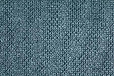 Primer plano de aguamarina de tejido térmico perforado Foto de archivo