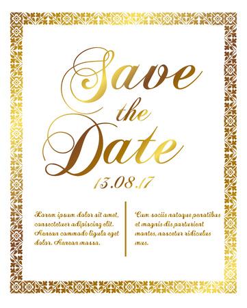 Vector illustration wedding holiday poster.