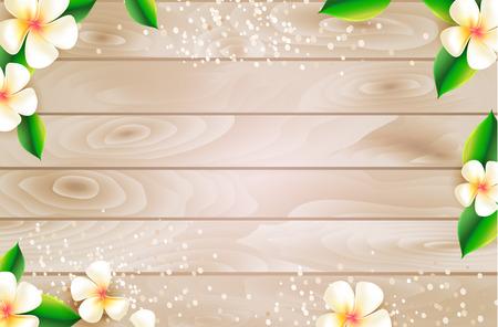 Summer sale web background design with botanical elements. Vector illustration.